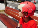 Kask rolkowy Powerslide Iron Man